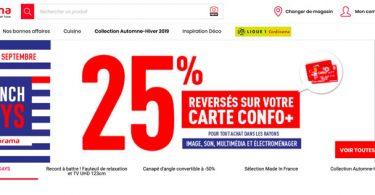 Conforama French Days 2019