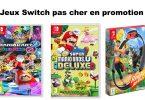 Jeux Switch pas cher promotion